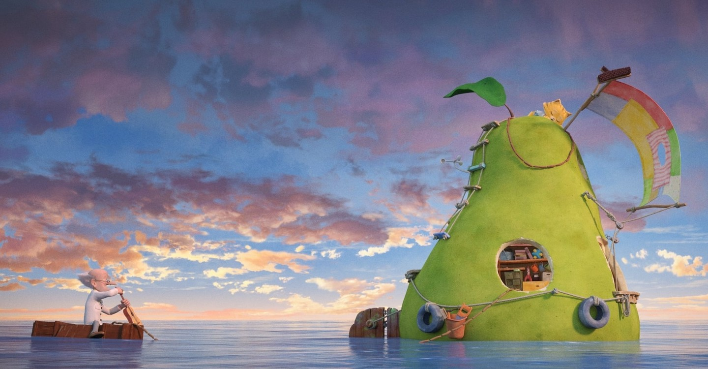 The Incredible Story of the Giant Pear backdrop 1