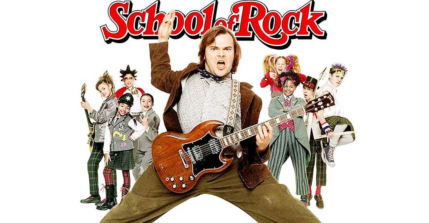School of Rock backdrop 1