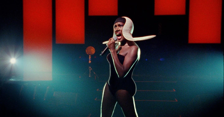 Grace Jones: Bloodlight and Bami backdrop 1