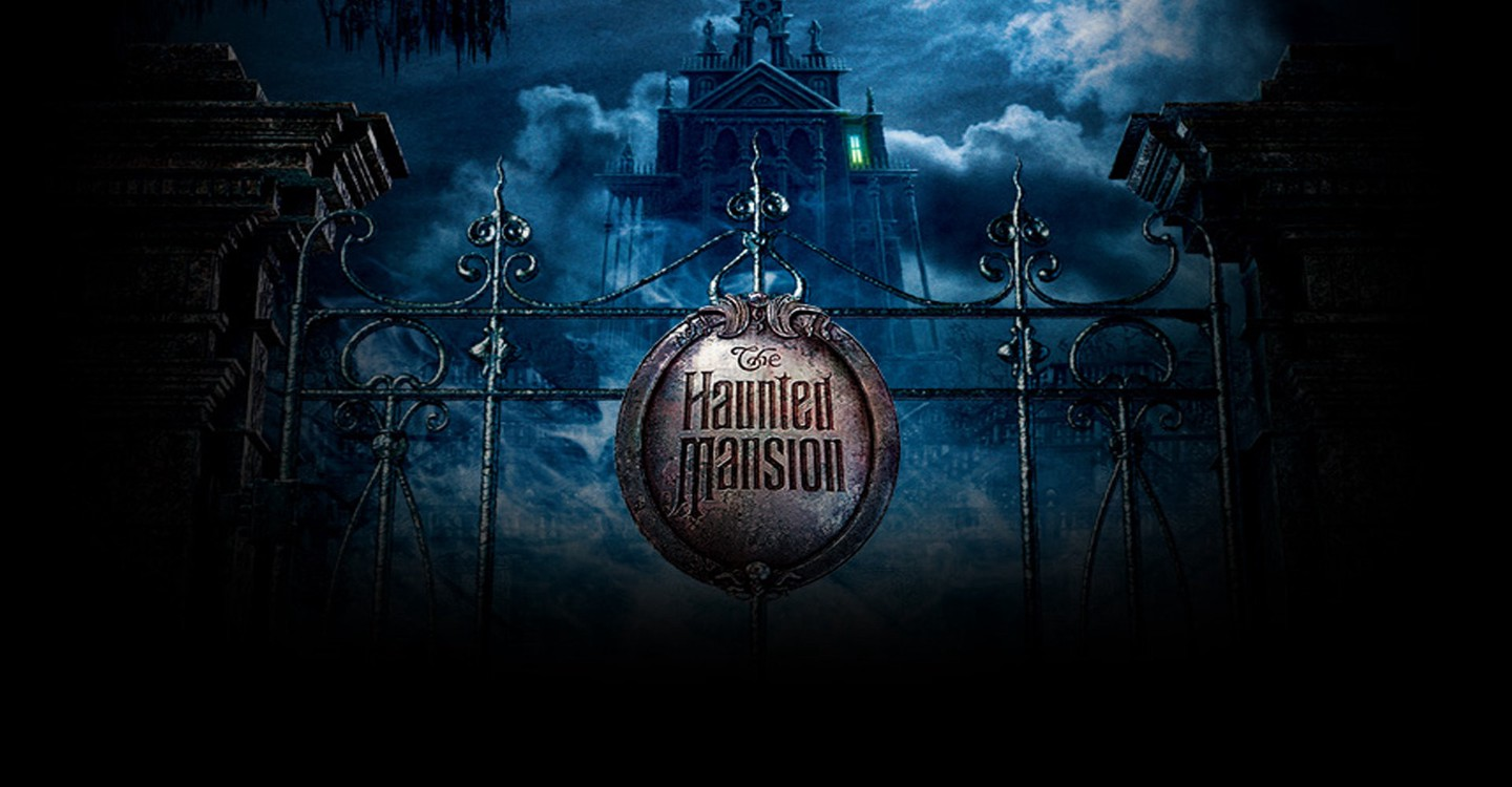 The Haunted Mansion backdrop 1