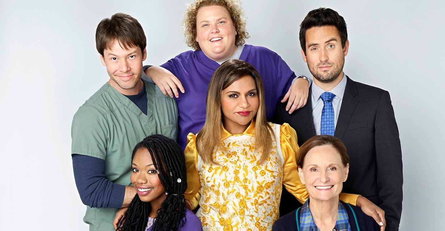 The Mindy Project backdrop 1