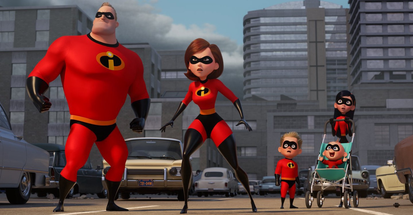 The Incredibles 2: Os Super-Heróis backdrop 1