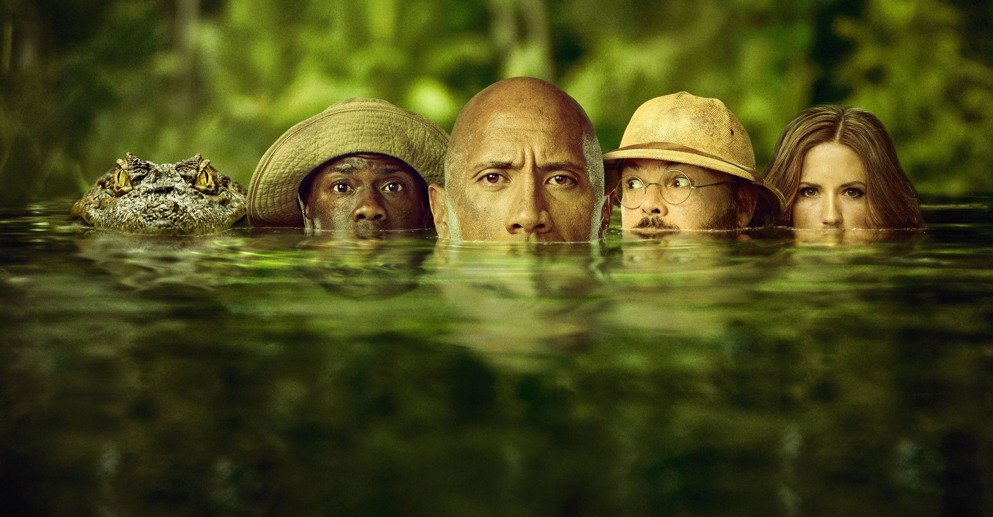Jumanji: Welcome to the Jungle backdrop 1