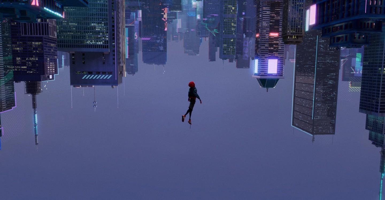 Человек-паук: Через вселенные backdrop 1