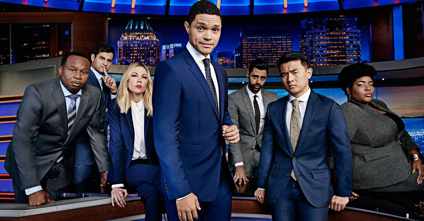 The Daily Show with Trevor Noah backdrop 1