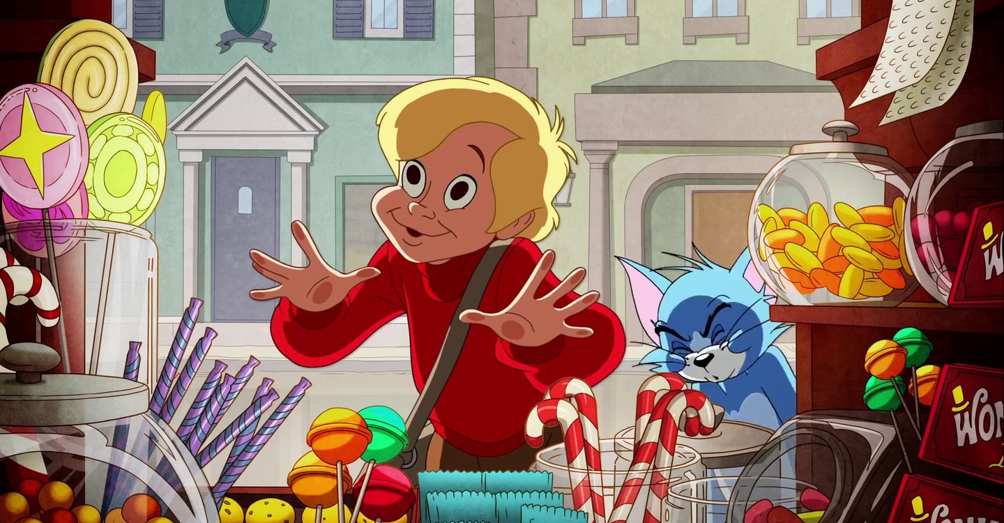 Tom and Jerry: Willy Wonka and the Chocolate Factory backdrop 1