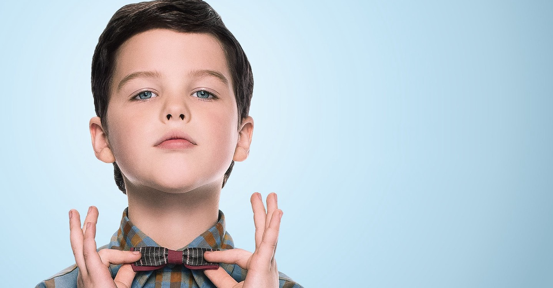 El joven Sheldon backdrop 1