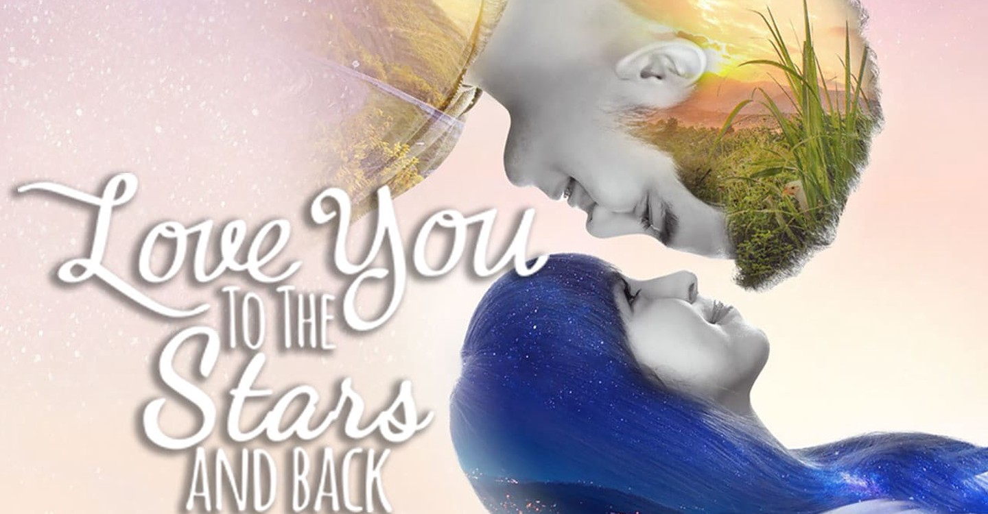 Love You to the Stars and Back backdrop 1