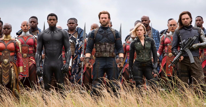 Мстители: Война бесконечности backdrop 1