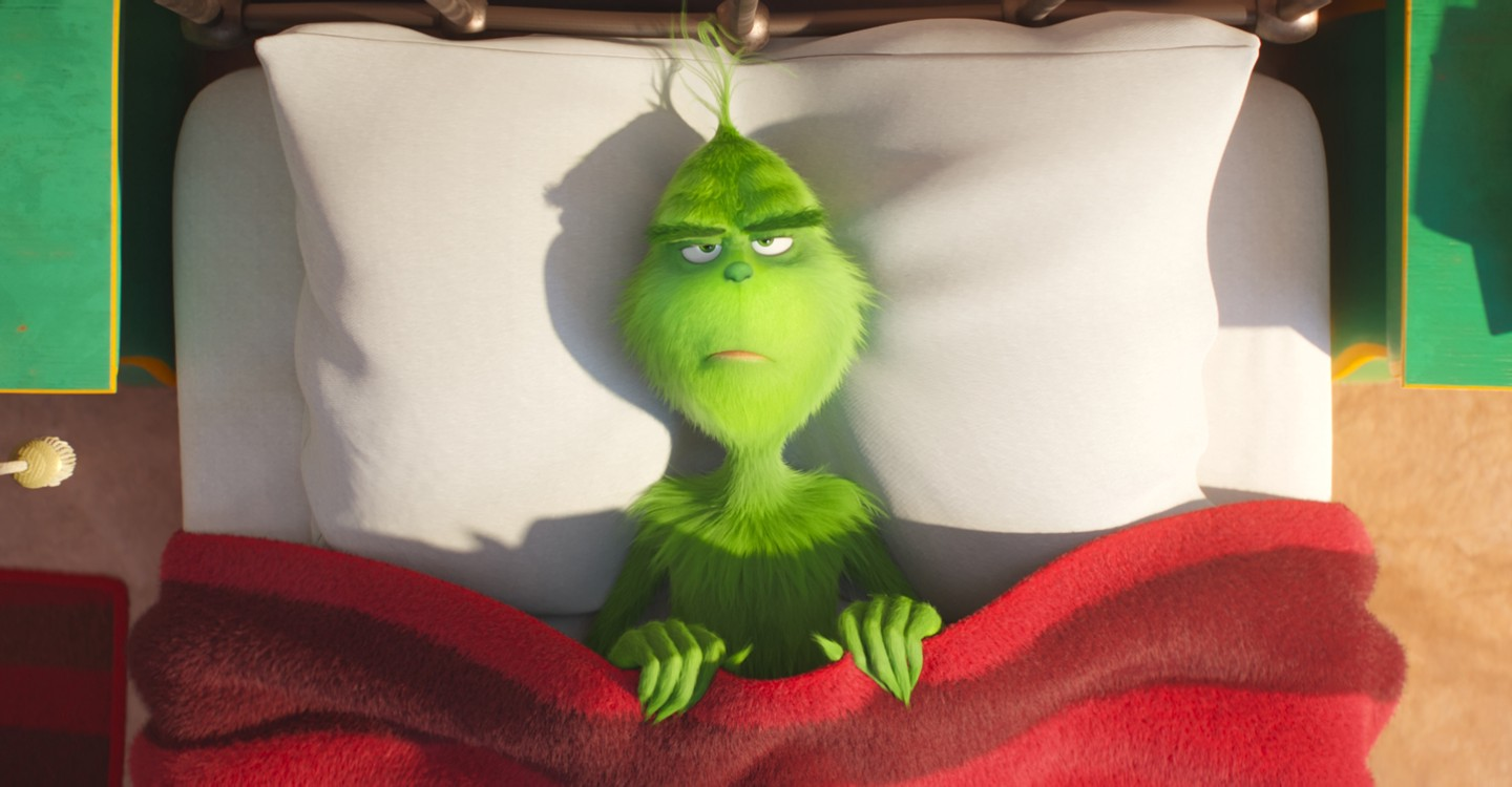 The Grinch backdrop 1