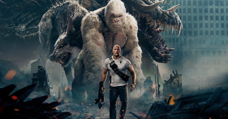 Rampage - Big meets Bigger backdrop 1