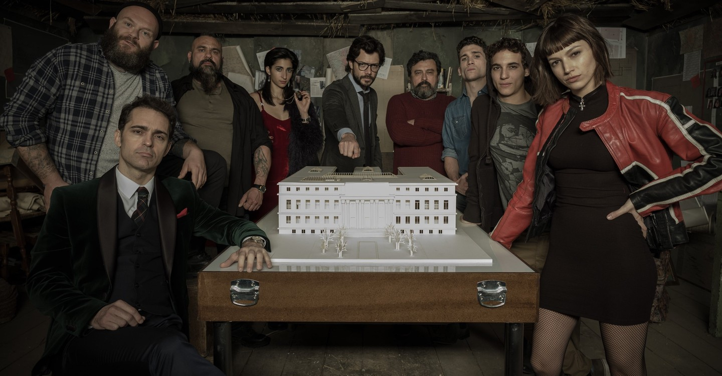 Money Heist Season 2 - watch full episodes streaming online
