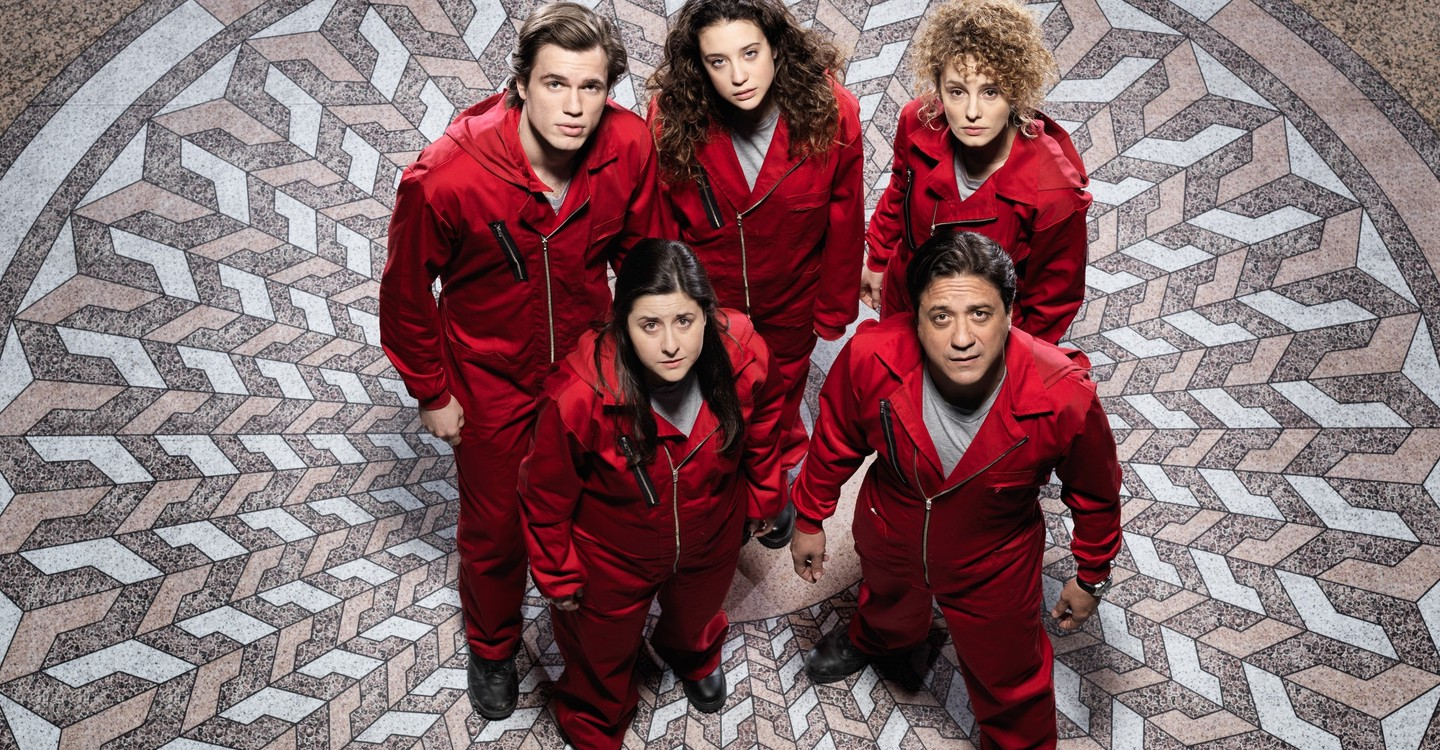 Money Heist - watch tv show streaming online