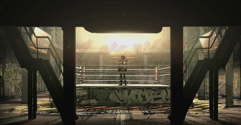 Megalo Box backdrop 1
