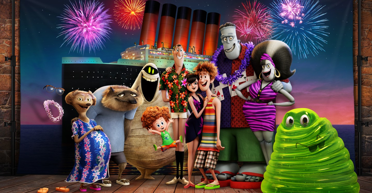 Hotel Transylvania 3: Summer Vacation backdrop 1