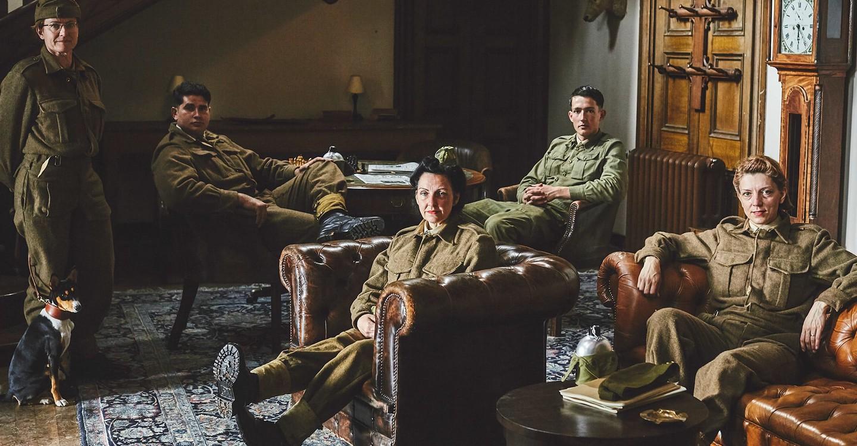 Secret Agent Selection: WW2 backdrop 1