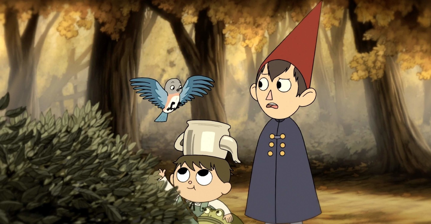 Escena de Over the garden wall