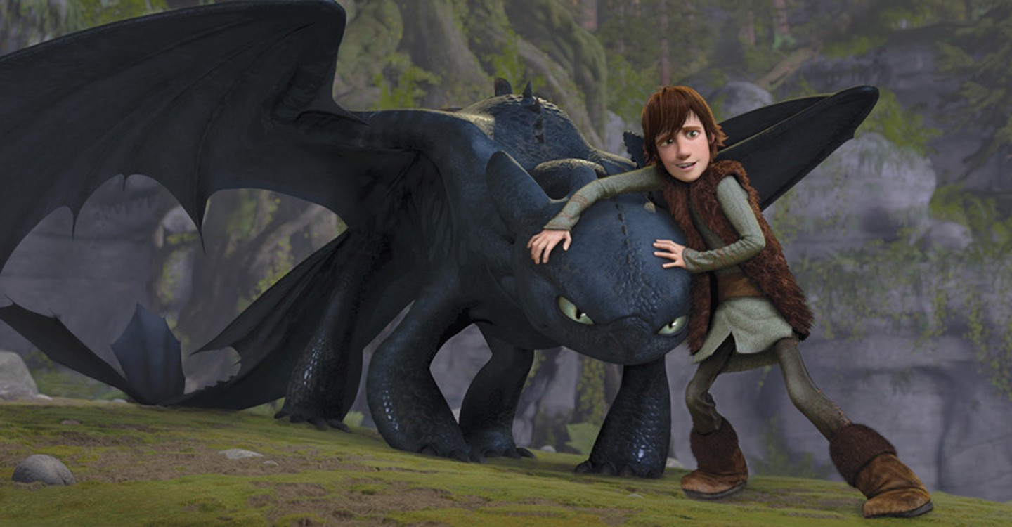 How to Train Your Dragon backdrop 1