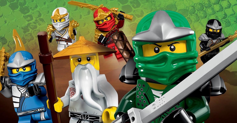 Lego Ninjago: Meister des Spinjitzu backdrop 1