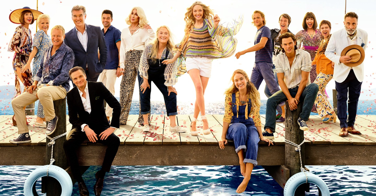 Mamma Mia! Here We Go Again backdrop 1