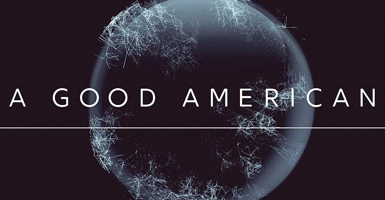 A Good American backdrop 1