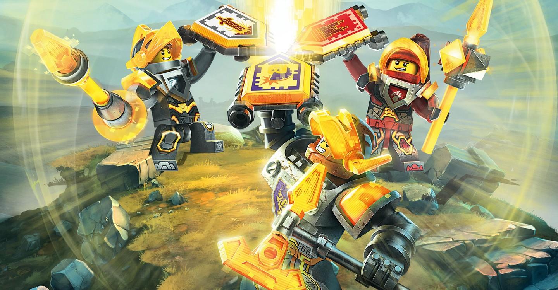 LEGO Nexo Knights backdrop 1