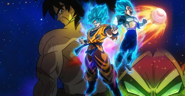 Dragon Ball Super Broly backdrop 1