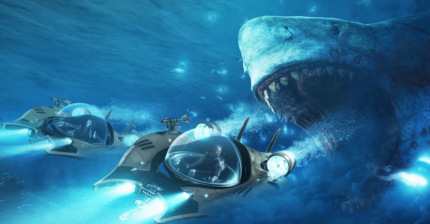 The Meg backdrop 1