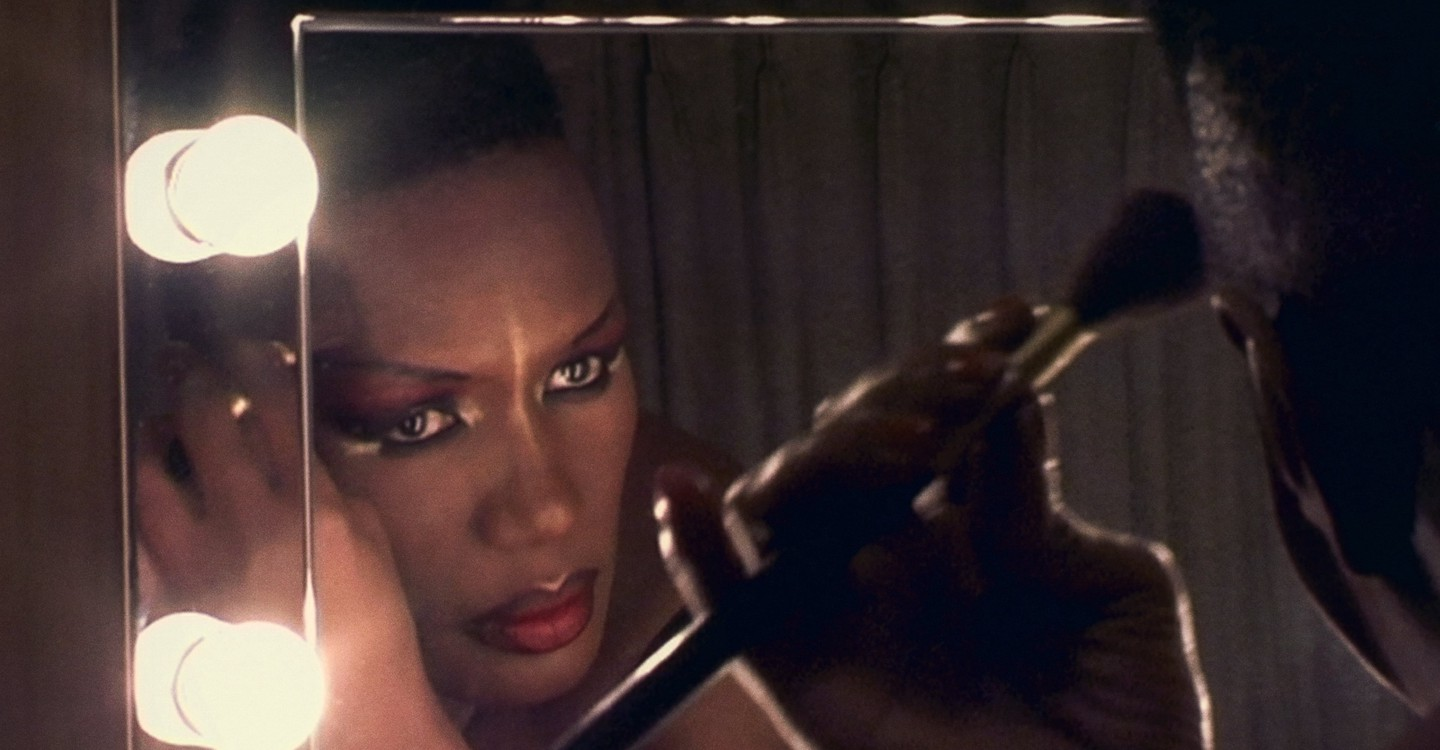 Grace Jones: Bloodlight and Bami backdrop 1