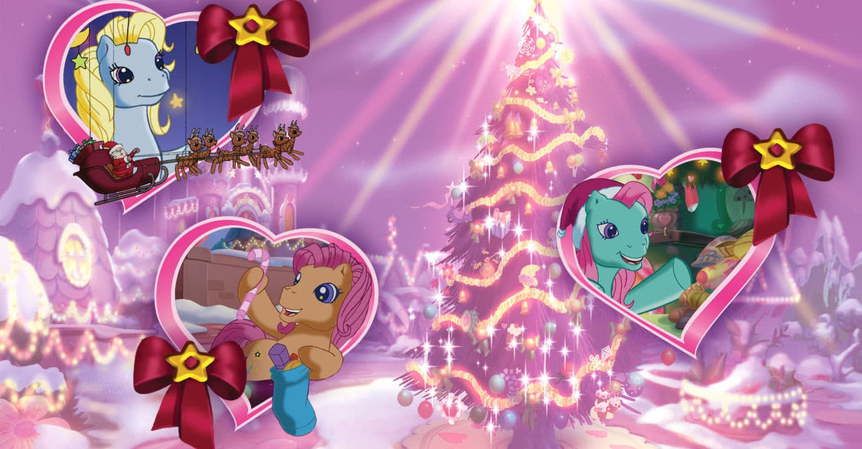 Mlp Christmas.My Little Pony A Very Minty Christmas Sd Buy