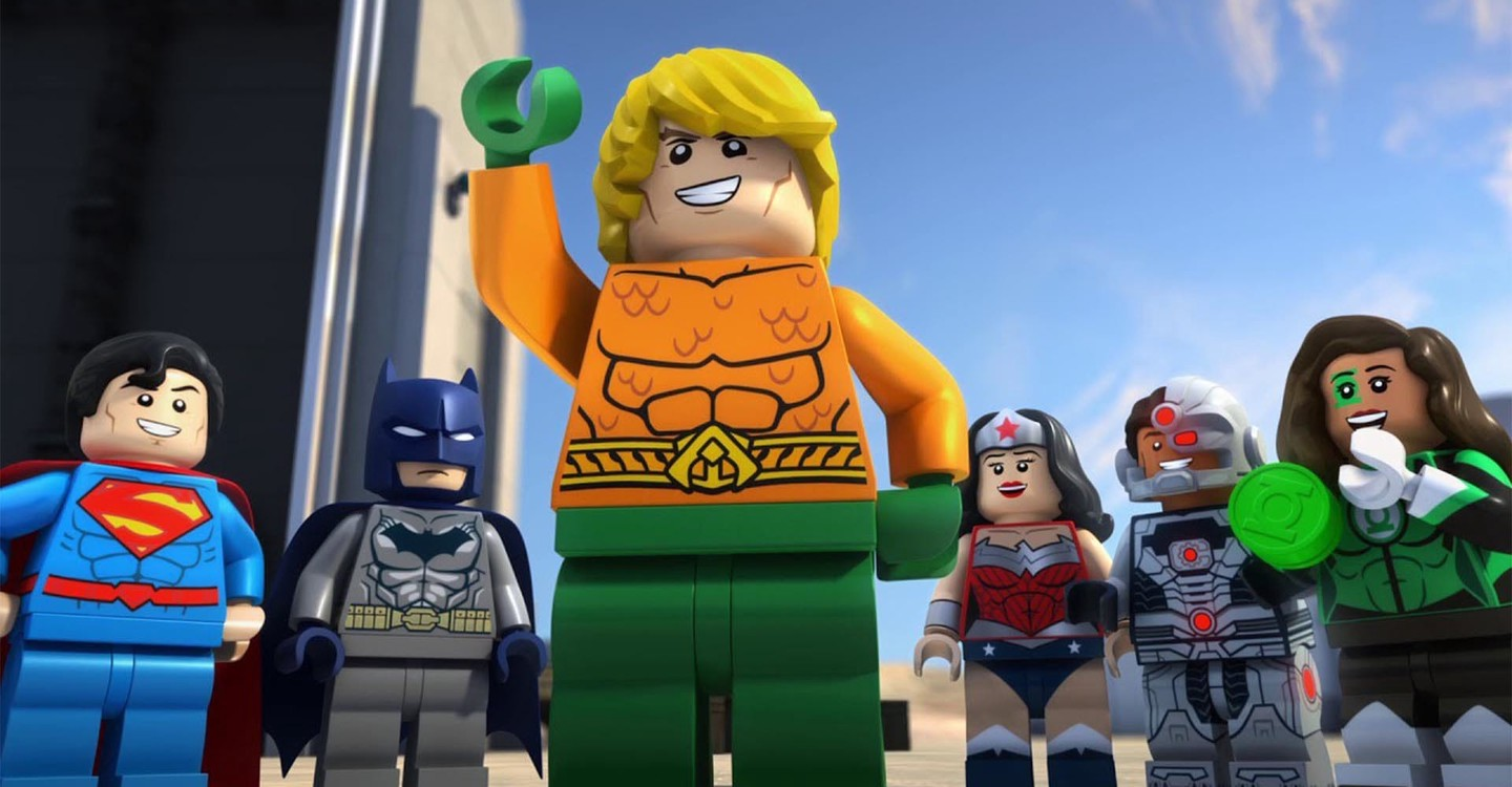 LEGO DC Super Heroes - Aquaman: Rage Of Atlantis backdrop 1
