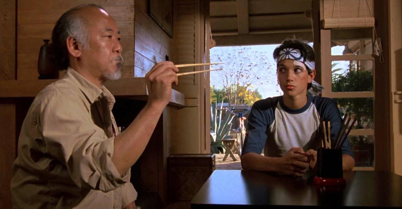The Karate Kid backdrop 1