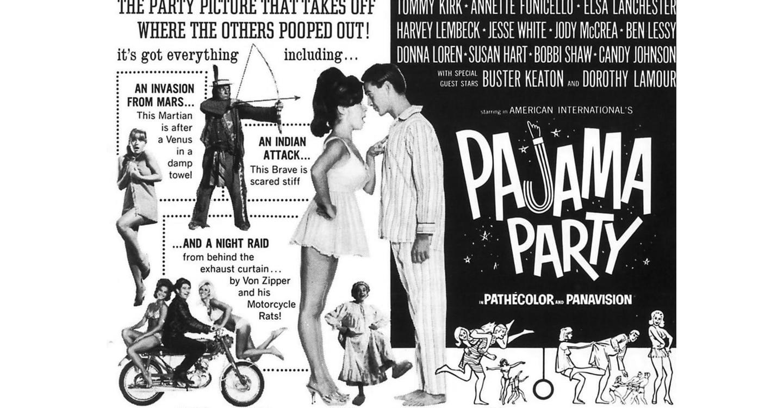 Pajama Party backdrop 1