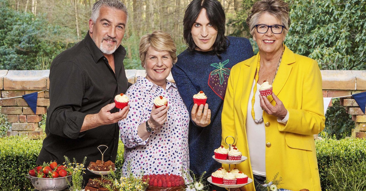 The Great British Bake Off backdrop 1