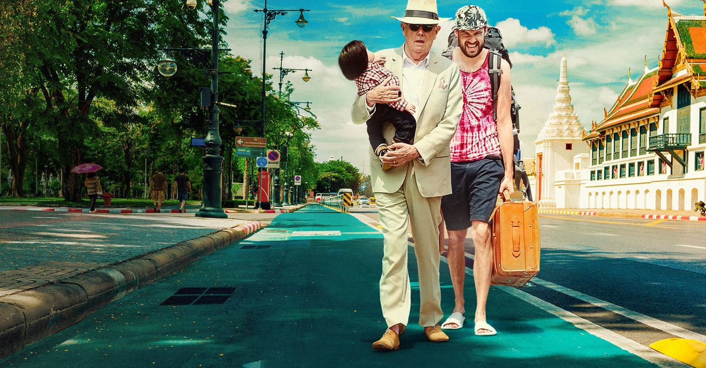 Jack Whitehall: Travels with My Father backdrop 1