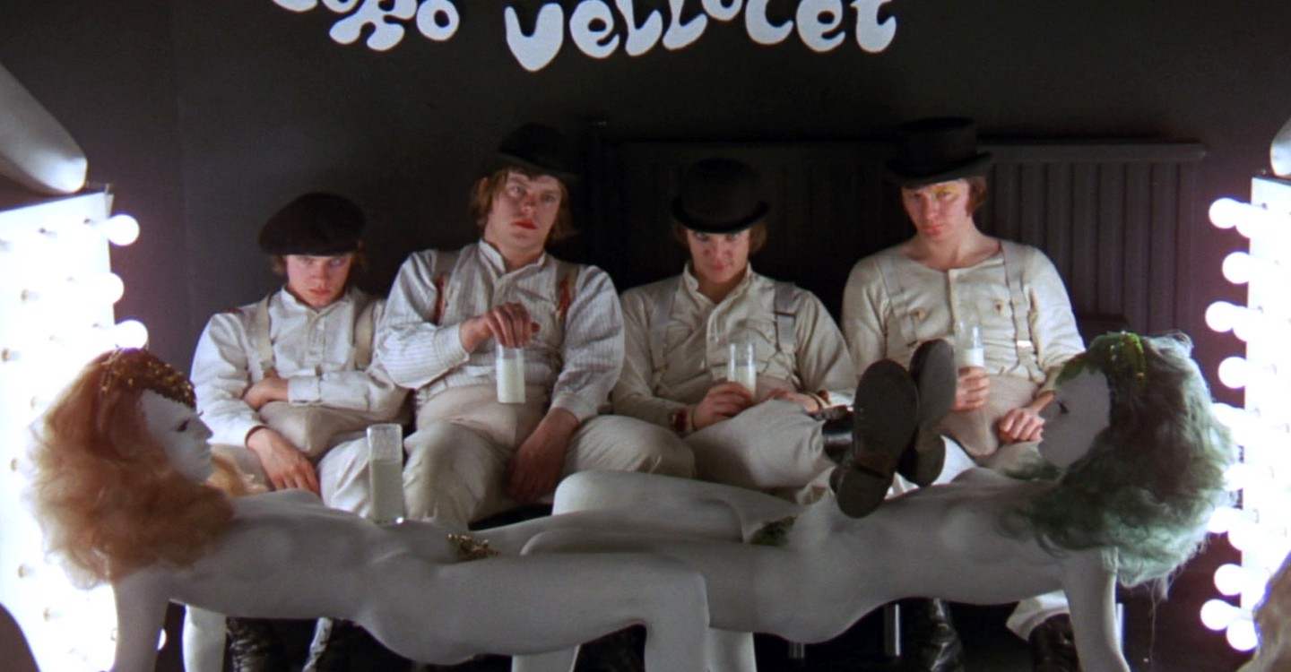 A Clockwork Orange backdrop 1
