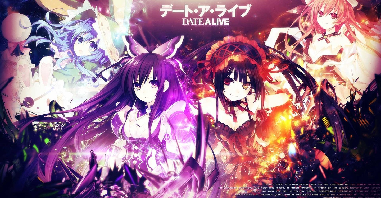 Date a Live backdrop 1