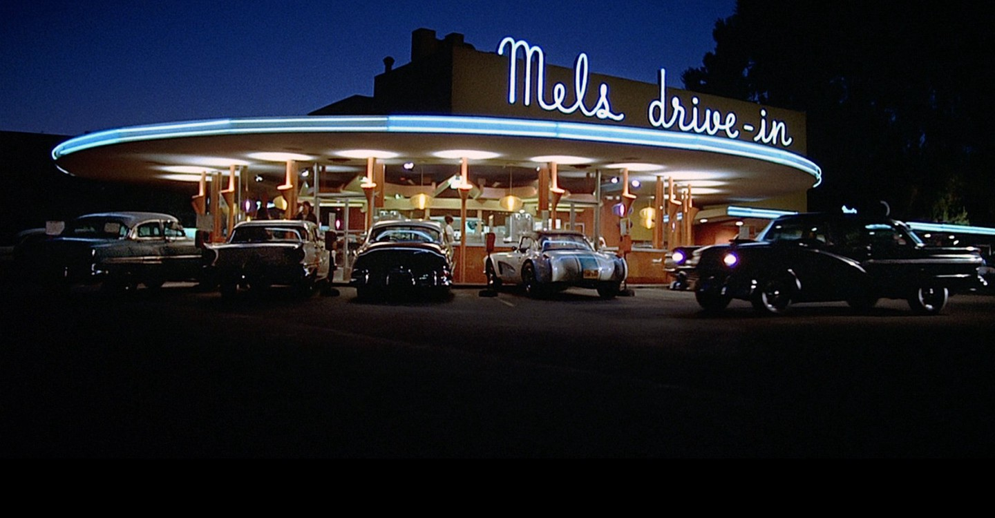 American Graffiti backdrop 1