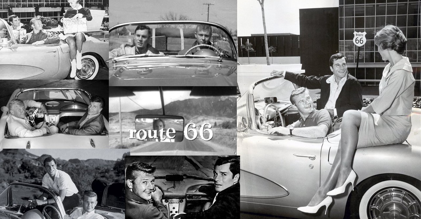 Route Watch Tv Show Streaming Online - Route 66 tv show car