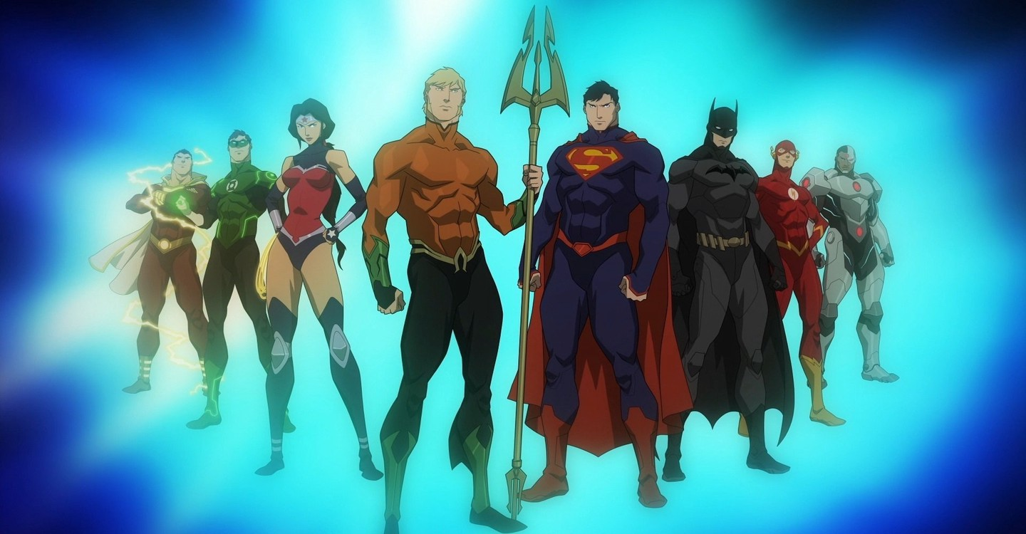 Justice League: Throne of Atlantis backdrop 1