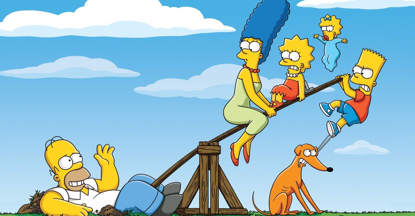 The Simpsons backdrop 1
