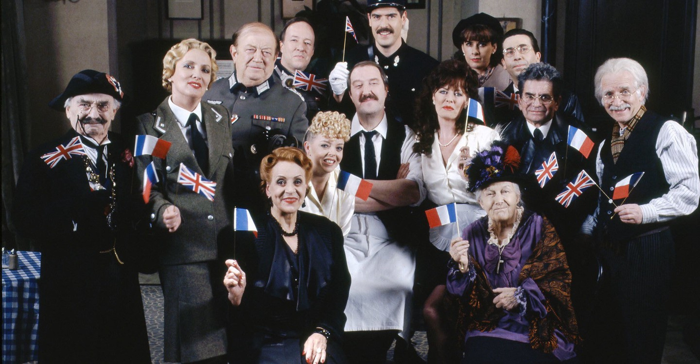 'Allo 'Allo! backdrop 1. '