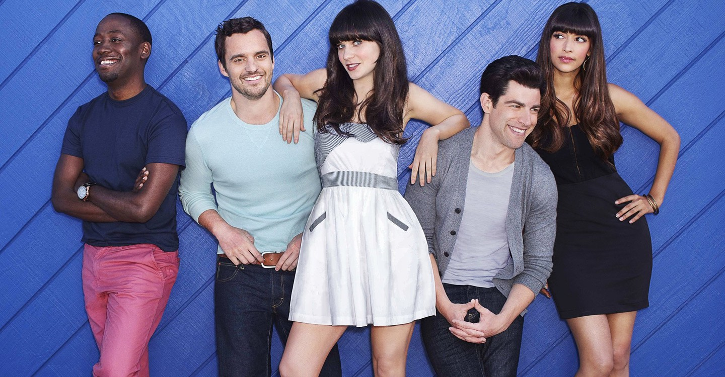New Girl backdrop 1