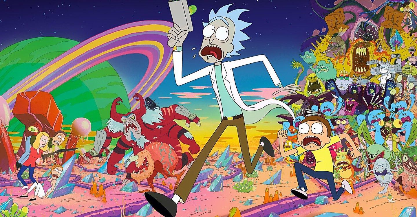 Rick and Morty backdrop 1