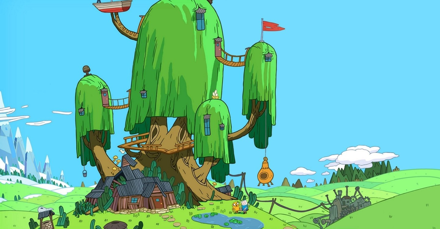 Adventure Time backdrop 1