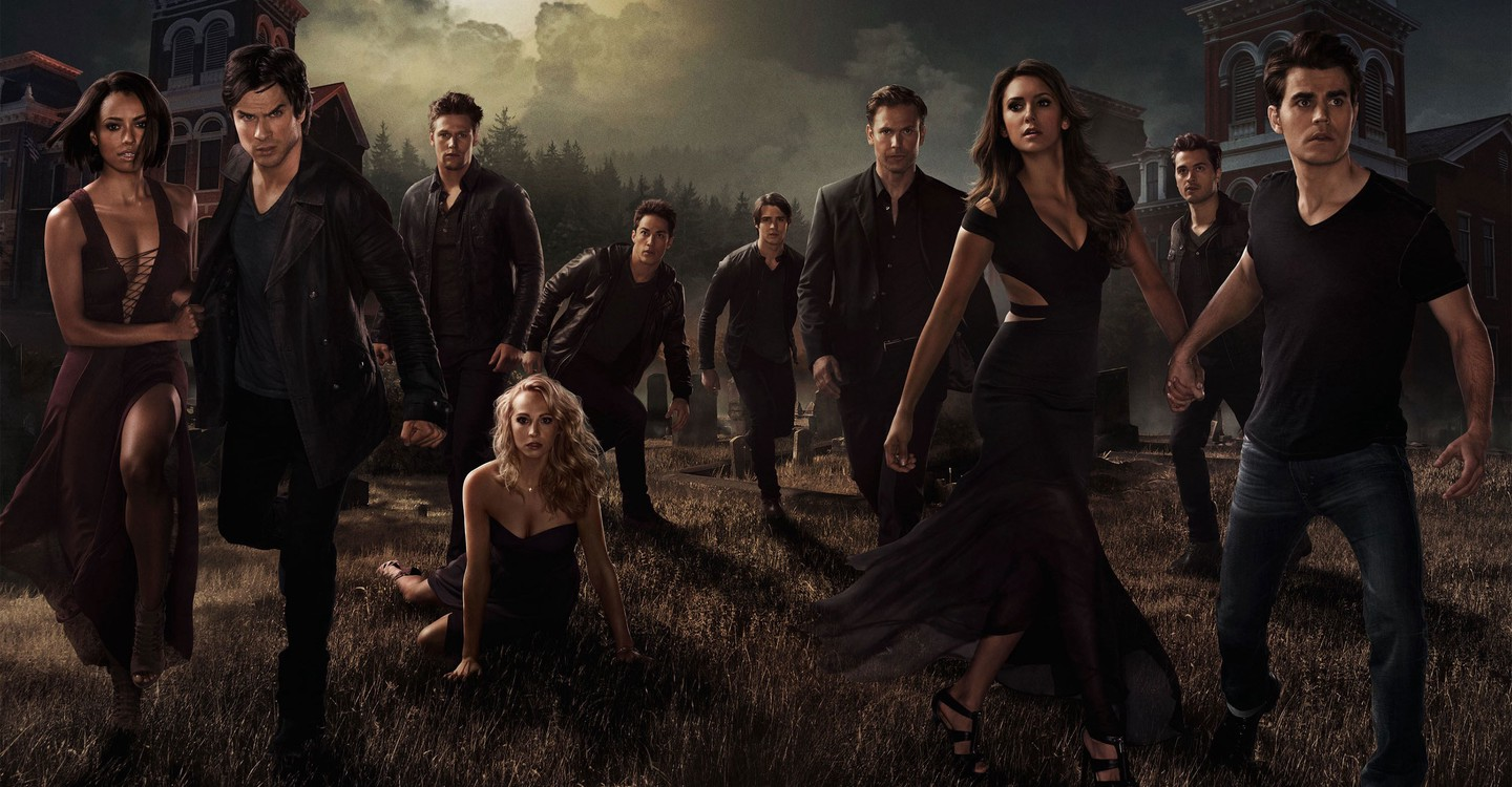 The Vampire Diaries backdrop 1