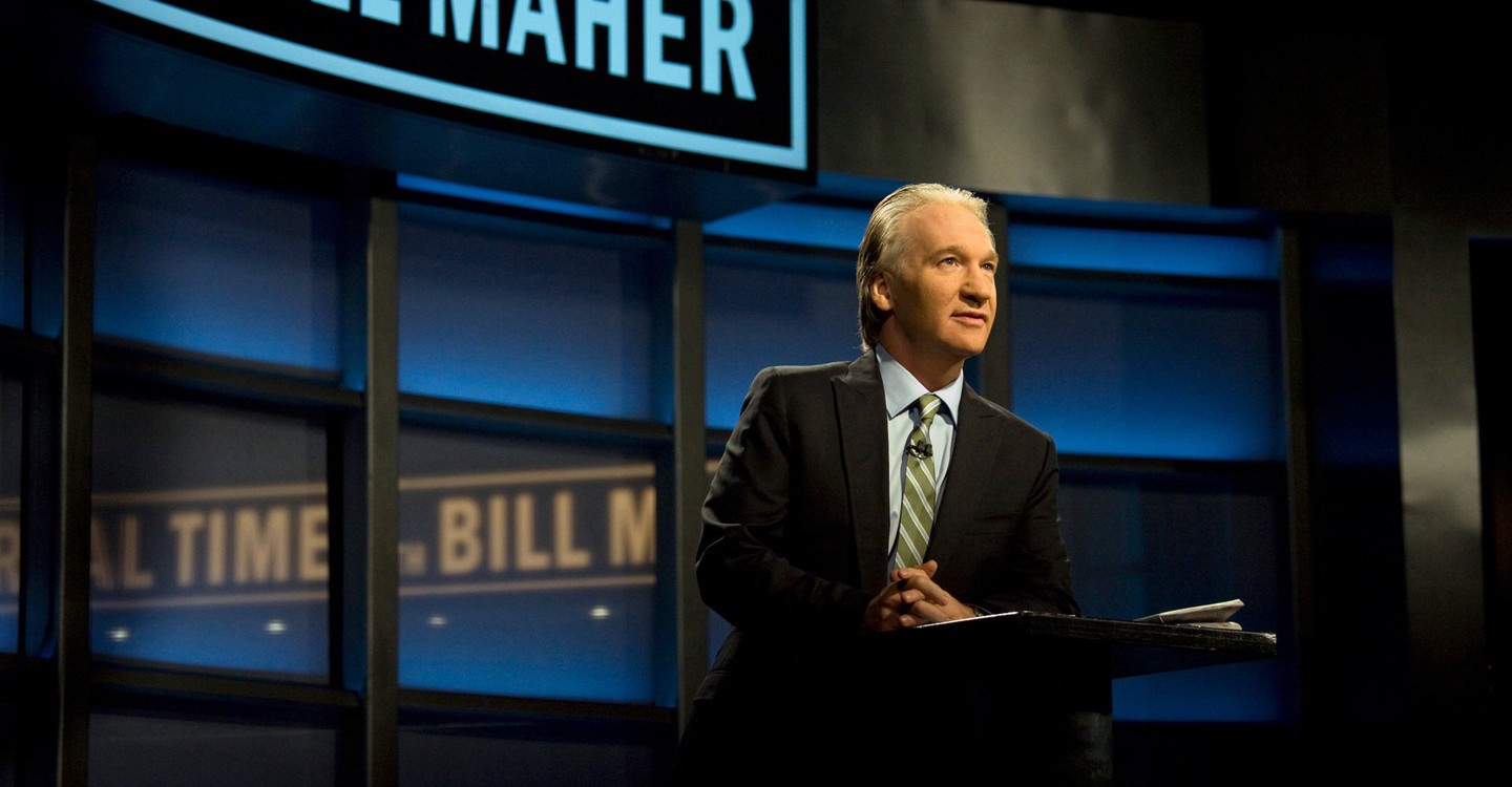 Real Time with Bill Maher backdrop 1