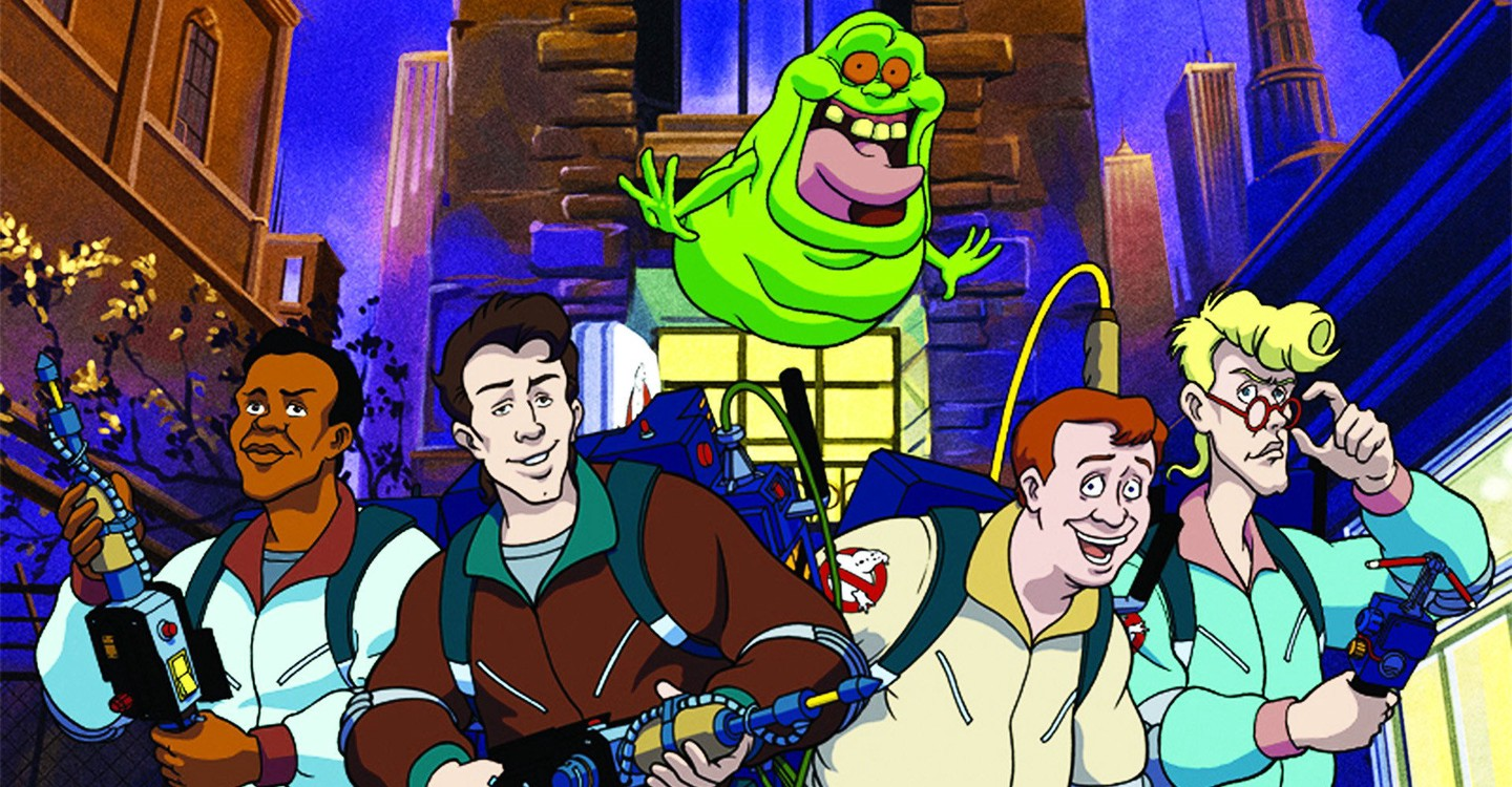 The Real Ghostbusters backdrop 1