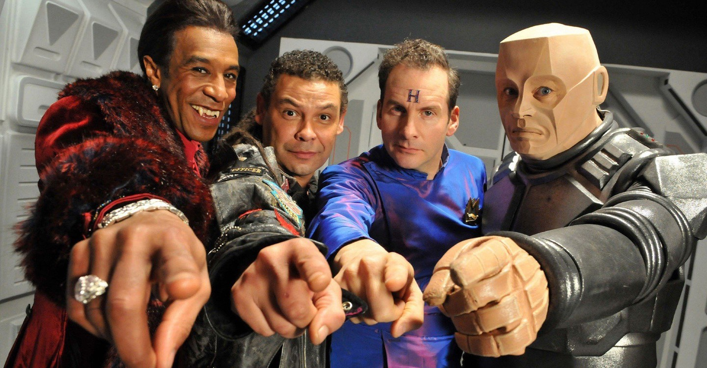 Red Dwarf backdrop 1