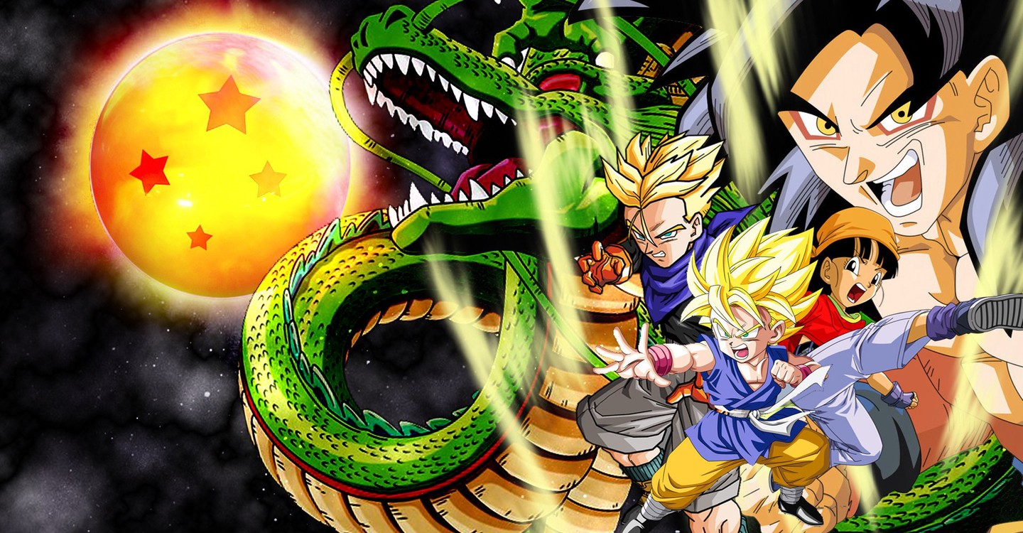 Dragon Ball GT backdrop 1